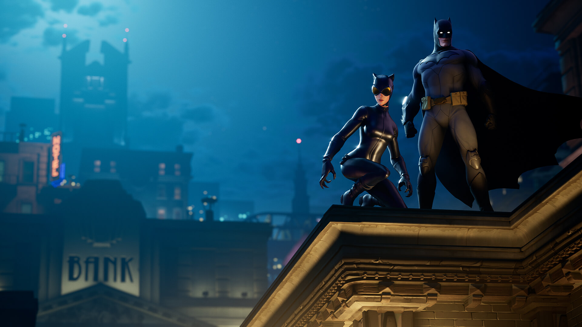 'Fortnite' heads to Gotham City in new Fortnite x Batman event